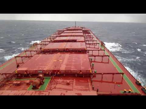 中國東海航行實拍  Sailing at East China Sea
