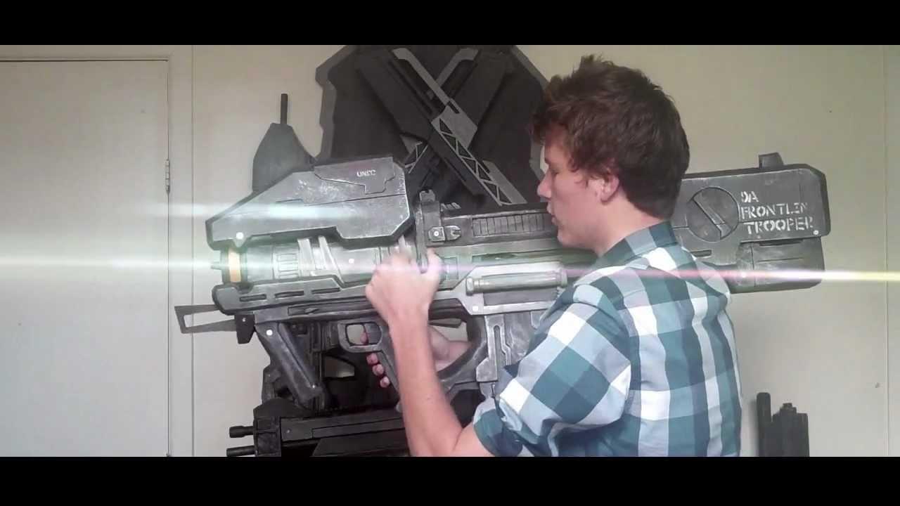 Spartan Laser Airsoft The Halo Reach Spartan Laser