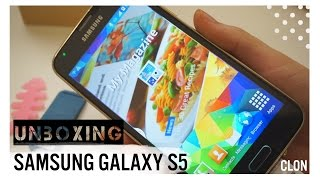 Unboxing Samsung galaxy S5 (clon perfecto) - Chic and cakes