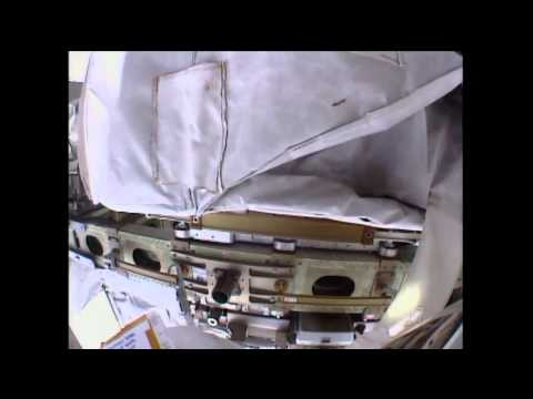 NASA Astronauts Conduct Spacewalk on ISS