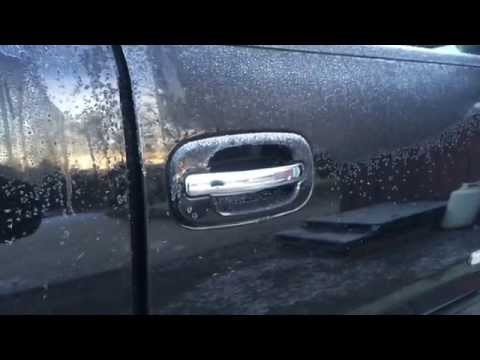 how to install/replace a door handle on a 2003 through 2007 classic silverado/sierra.