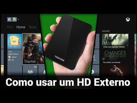Como usar um HD Externo no Xbox One
