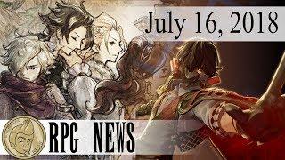 RPG News! The JRPG Weekly Update July 16 2018