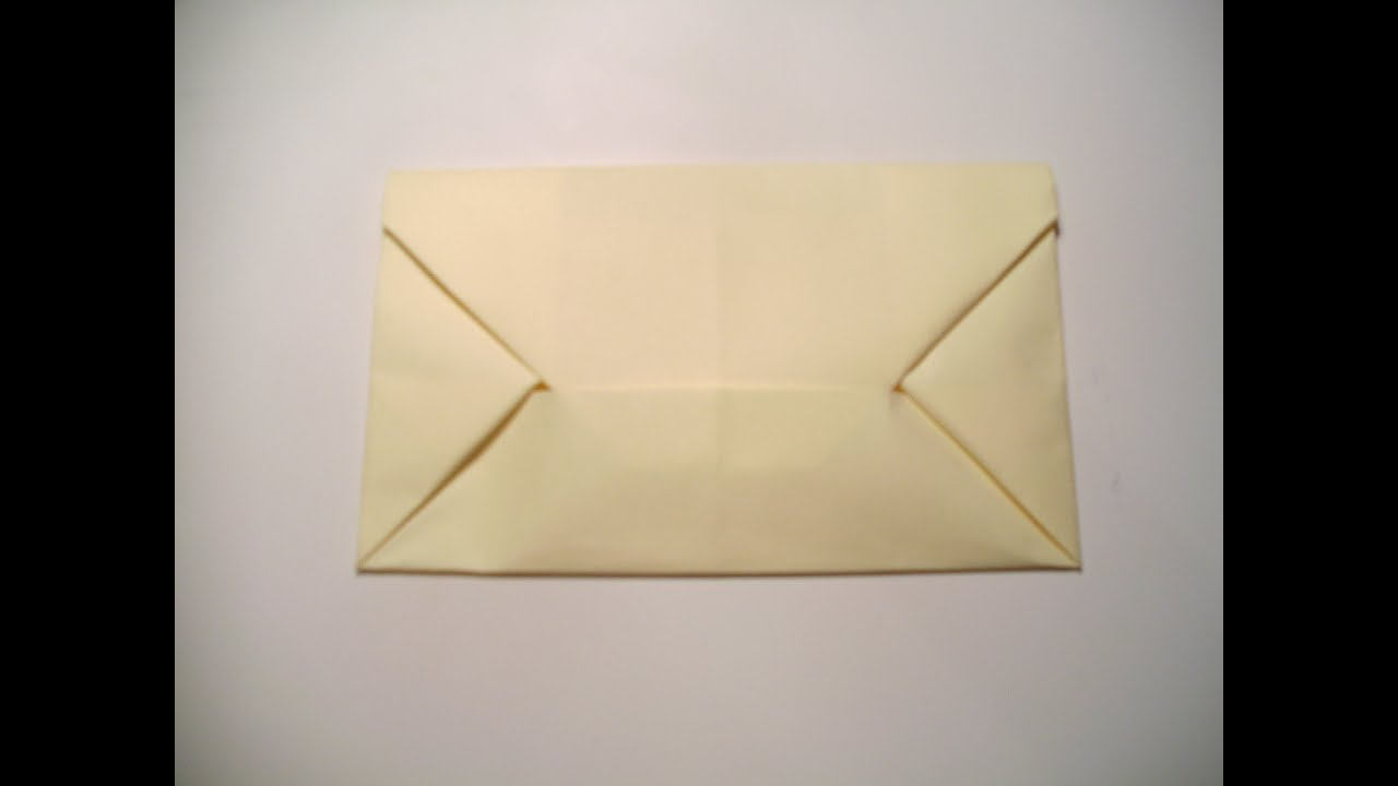 How To Make A Letter Into An Envelope