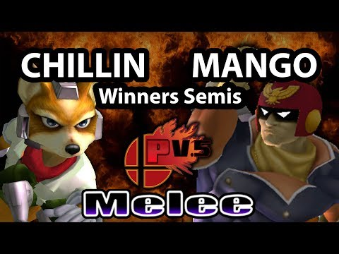 Pound 5.5 - MioM | Mango (Captain Falcon) Vs. Chillindude829 (Fox) SSBM Winners Semis - Melee