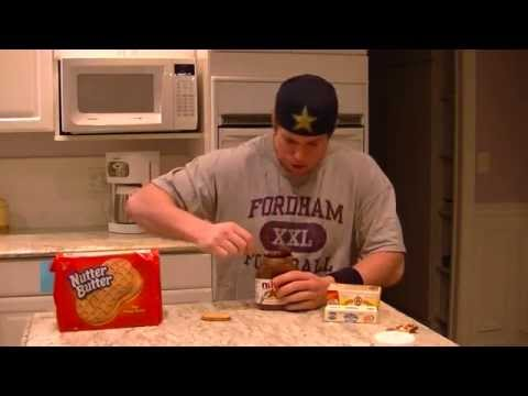 Idiot Consumes 5000 Calories In 4 Min. (CLICK TO BELIEVE IT)