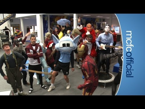 THE HARLEM SHAKE Manchester City Football Club