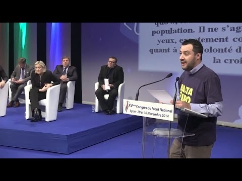 Intervento di Matteo Salvini [XV Congresso Front National - 29/11/2014]