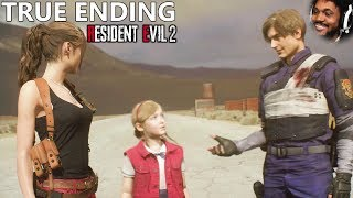 GETTING THE TRUE ENDING WITH CLAIRE (yes. the entire game) | Resident Evil 2 (Remake) TRUE END