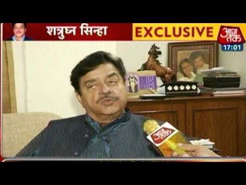 Exclusive: Shatrughan Sinha Praises Nitish Kumar, Slams BJP
