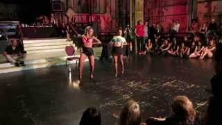 Beyonce (Partition) - Aline Cleto & Lais Lopes Performing at the 2014 Los Angeles Zouk Congress