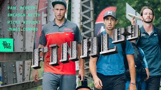2019 DISC GOLF WORLD CHAMPIONSHIPS | FINALB9 | Wysocki, McBeth, Keith, Conrad