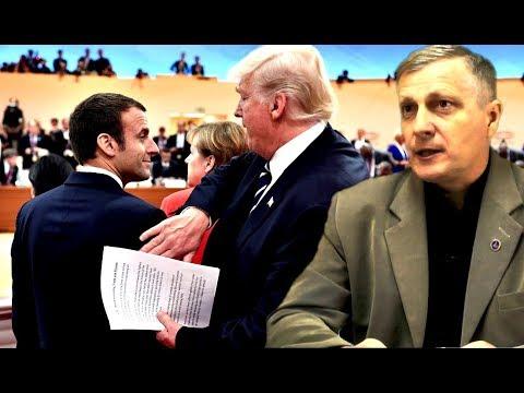 Почему Макрон заискивает перед Трампом. Аналитика Валерия Пякина.