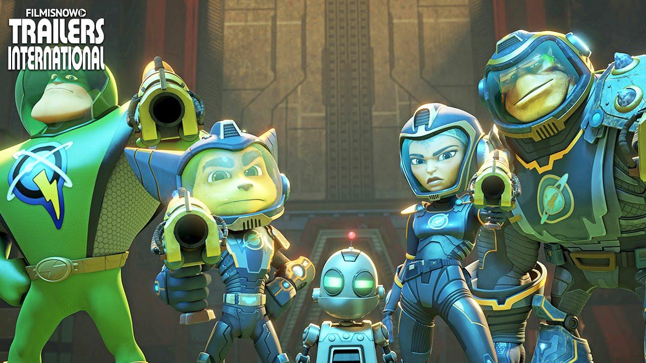 Heróis da Galáxia (Ratchet & Clank) | Novo Clipe + Trailer Compilation [HD]