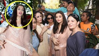 Aishwarya Rai Gets Mobbed By Fans