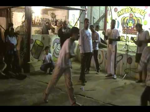 roda de capoeira quermesse da vila crett grupo folclore brasileiro prof mascara