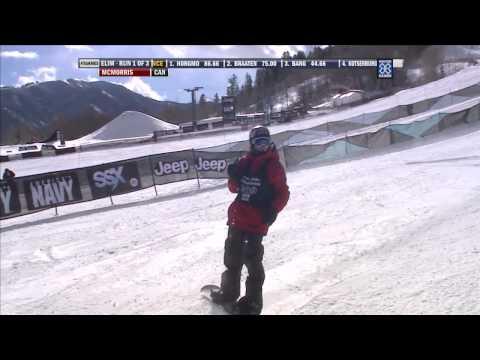 Winter X Games 2012: McMorris's Big Qualifying Run