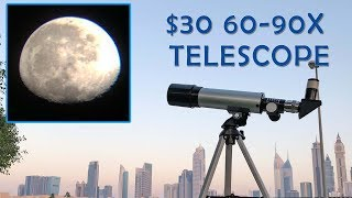 Cheapest 90X Telescope! Phoenix F36050 Review + Samples