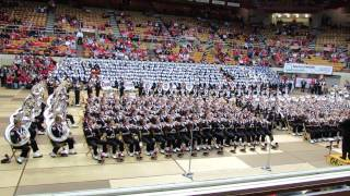 Ohio State Marching Band Hollywood Blockbusters Show At Skull Session 10 26 2013 Osu Vs Penn State