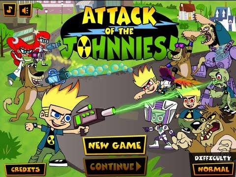 ATTACK OF THE JOHNNIES Level1-3 - Walkthrough