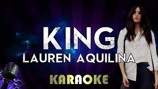 Lauren Aquilina King Karaoke Instrumental You Can Be King Again
