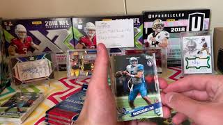 AAF blaster box opening! on card auto + missing pack...