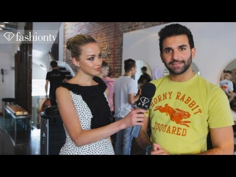 Neville Hair & Beauty Salon with Noelle Reno, London Olympics 2012 | FashionTV