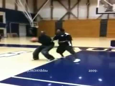 MIchael Jordan Skooling a slam ball player aka (the Ghetto Bird) MJ still showing he's still the best at age 49. Michael Jordan still the best at age 49 THE ...
