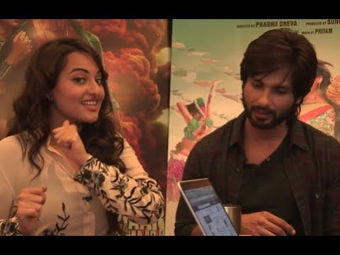 Shahid Kapoor & Sonakshi Sinha's Take On 'R...Rajkumar' Songs