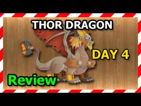 THOR DRAGON Dragon City Egg and Level Up Fast R
