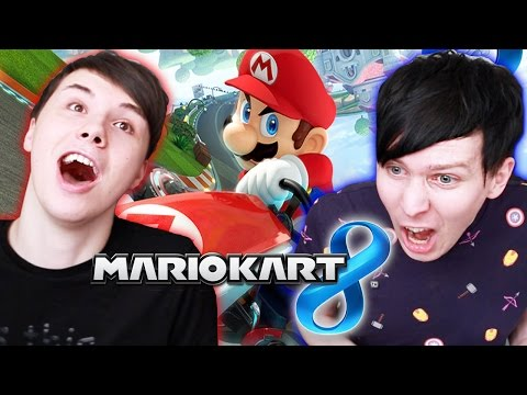 Dan vs. Phil - Mario Kart 8