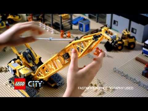 Lego City Crane Lego City Crawler Crane 7632