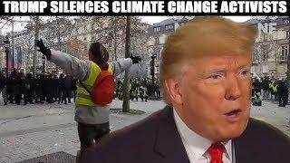 Trump Annihilates Global Warming Advocates In 10 Seconds!
