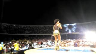 MzVee performs Natural Girl at MTN Pulse Turnup concert