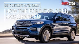 How the Ford Explorer SUV has changed over the years