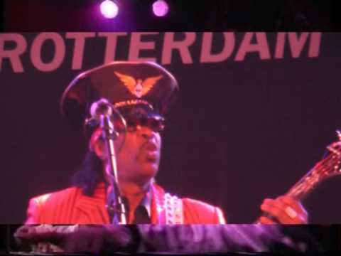 Bootsy's on the Mothership and gives up the Funk