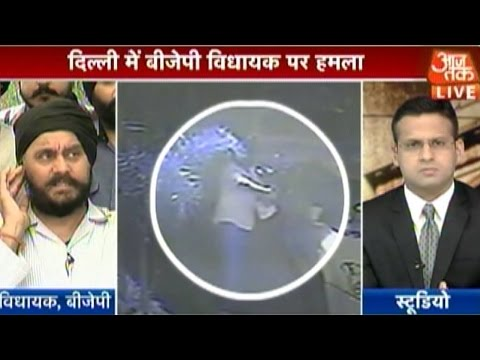 Attempt to kill Shahadra BJP MLA Jitender Singh Shunty