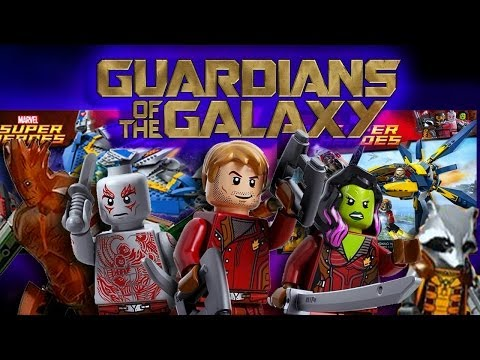 LEGO Marvel : Guardians of the Galaxy Sets - FULL ANALYSIS!