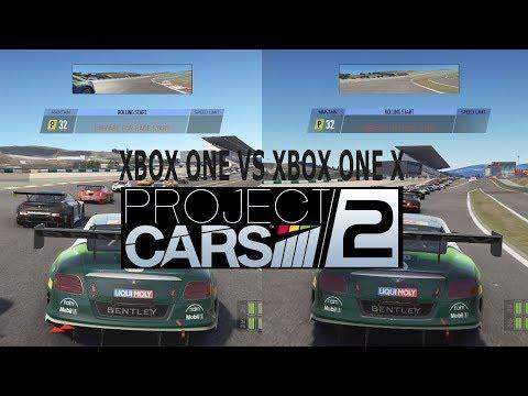 Project CARS 2 - Xbox One VS Xbox One X Graphics Comparison [1080p]