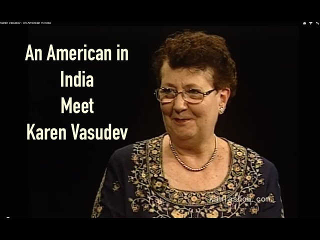 An American In India - Karen Vasudev