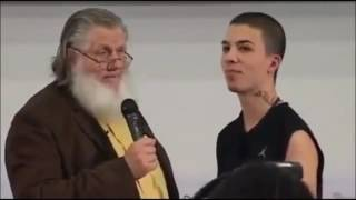 17 and 18 years old norwegian converted to Islam after a lecture for Yusef Estes