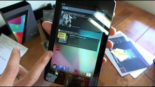 Google Nexus 7 Tablet by Asus Review Unboxing & Hands On