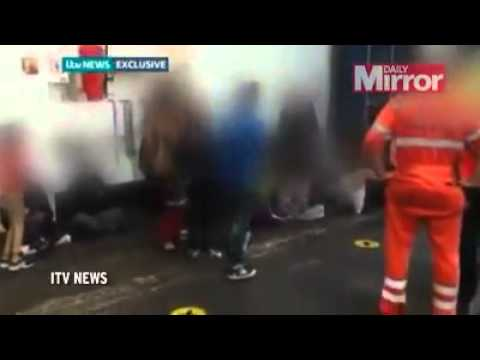 Dramatic Video: Terrified INDIAN Immigrants Freed From Shipping Container At Tilbury Docks!!!