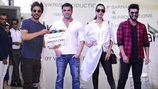 Shahrukh,Salman Khan's Brother,Malaika & Arjun Kapoor At Mahurat Of Marathi Movie
