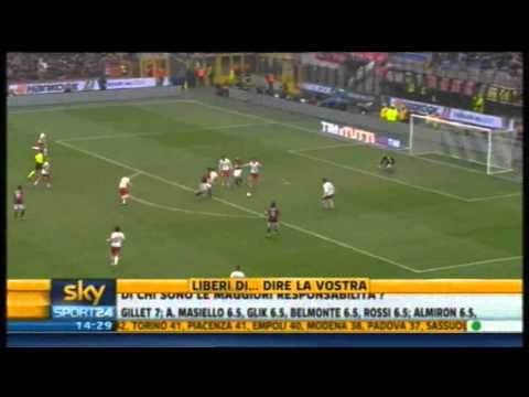 Milan - Bari 1-1 | Sintesi Highlights Sky Sport 24 | 13/03/2011 | 29^ giornata serie A | HQ