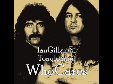 """WhoCares  """"Holy Water""""  by Ian Gillan & Tony Iommi (Lyrics)"""