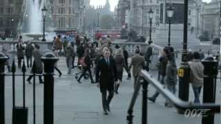 James Bond 007 - SKYFALL LONDON VIDEOBLOG