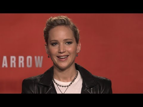Jennifer Lawrence Bares All In RED SPARROW (Interview)