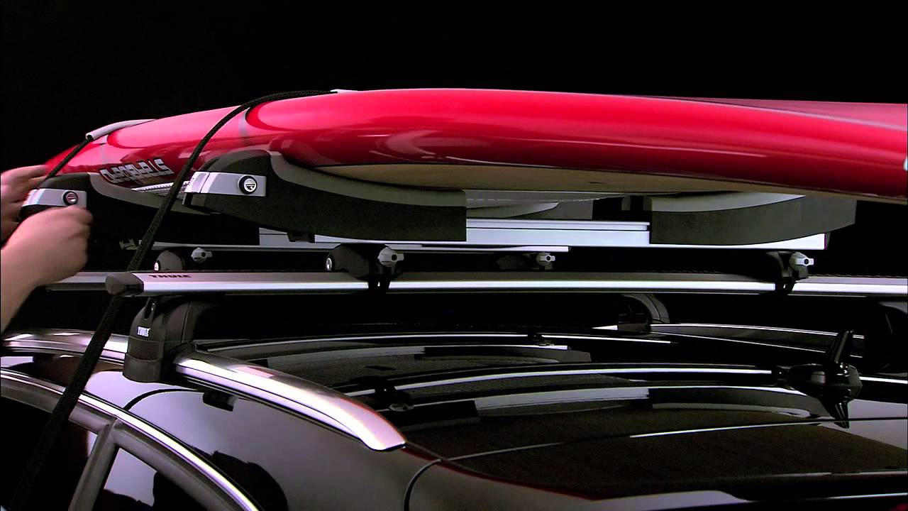 Thule Sup Taxi >> Watersports - Thule 810 SUP Taxi Carrier - YouTube