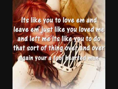 Jo Dee Messina-Lesson In Leaving Lyrics